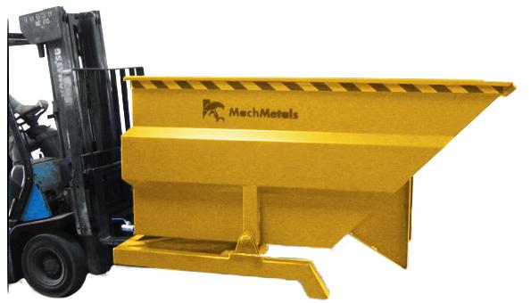 Fabricamos a Caçamba Basculante CG em vários tamanhos e capacidades, aumentando as possibilidades e personalizações de seu uso.