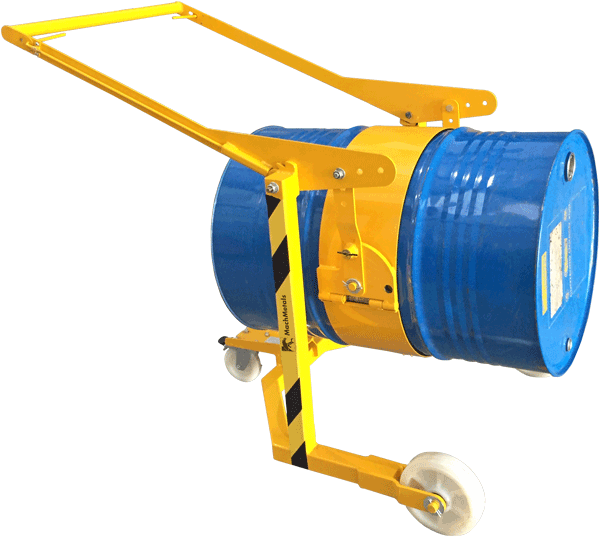 Realize o tombamento manual de tambores com mais agilidade e um ótimo custo-benefício.