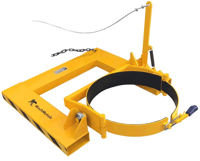 Equipamento indicado para tambores utilizados na coleta de sucatas, retalhos ou resíduos para descarte. Com acionamento à distância, garante mais segurança ao operador.