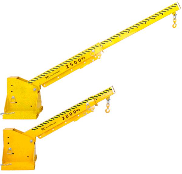Modifique inclinação e, principalmente, o comprimento da Lança facilmente com pinos. Sem a necessidade de sistemas complexos ou treinamentos especiais.