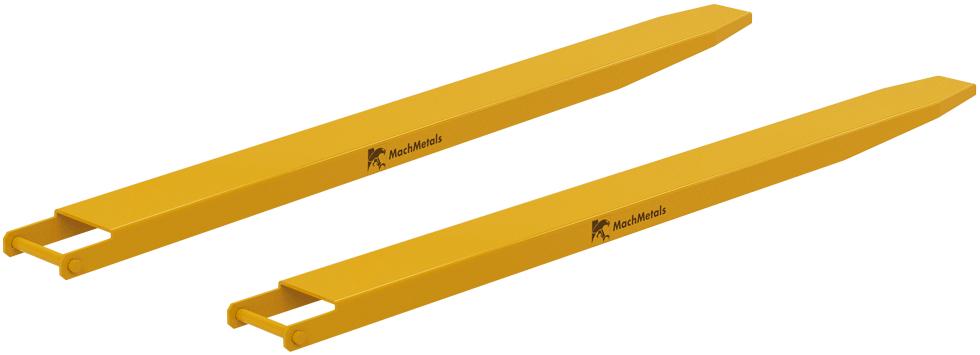 Realize o içamento e o transporte, com segurança, de cargas com comprimento que excede o garfo, respeitando a capacidade da empilhadeira.