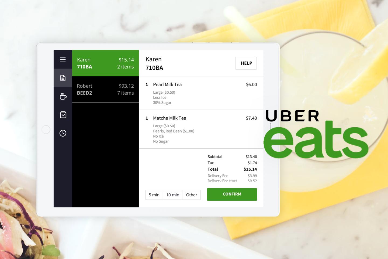Mandy Zhang | Uber Eats Order Lists
