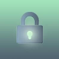 green circle icon with a padlock