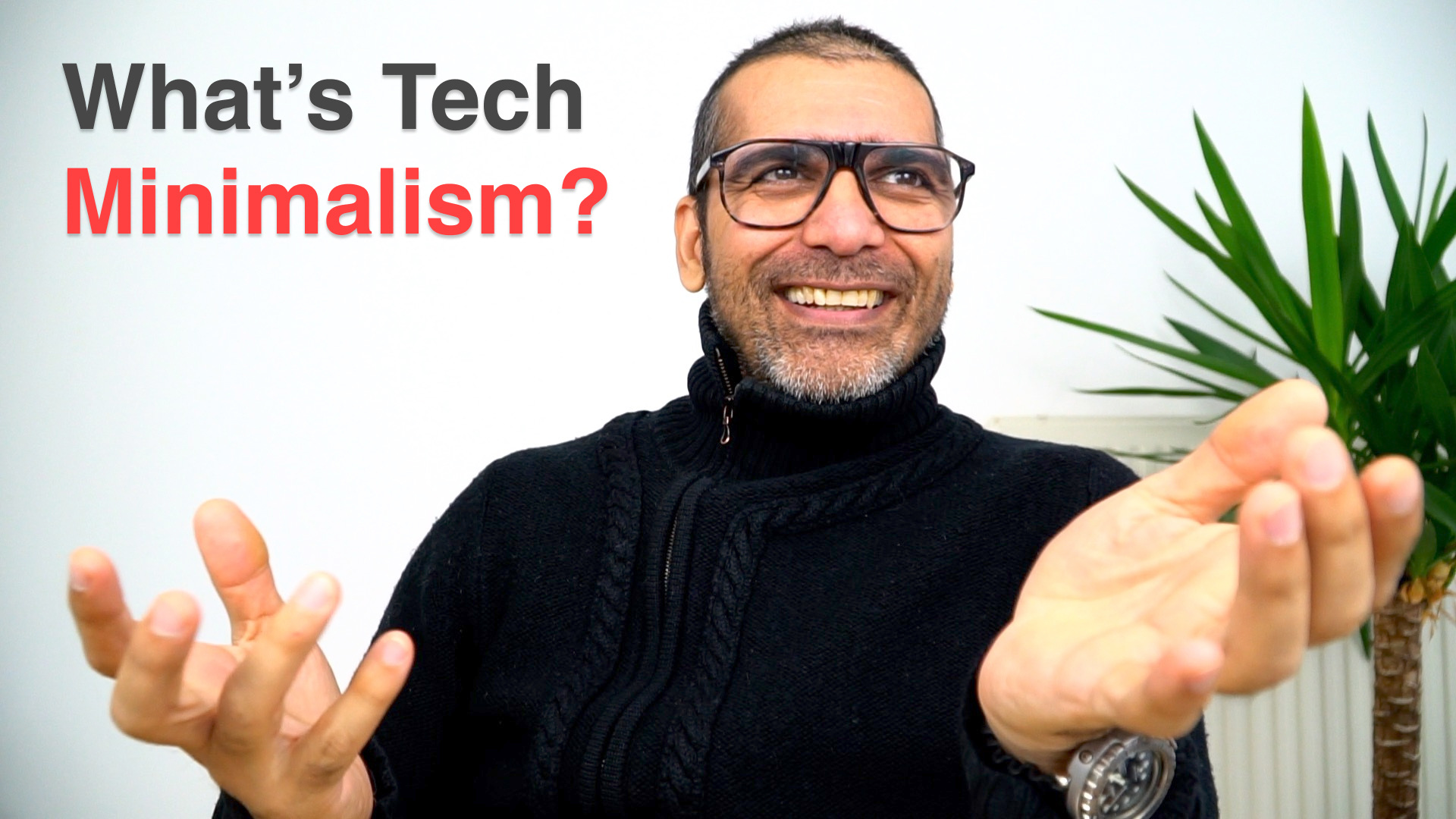 So, What's Tech Minimalism?