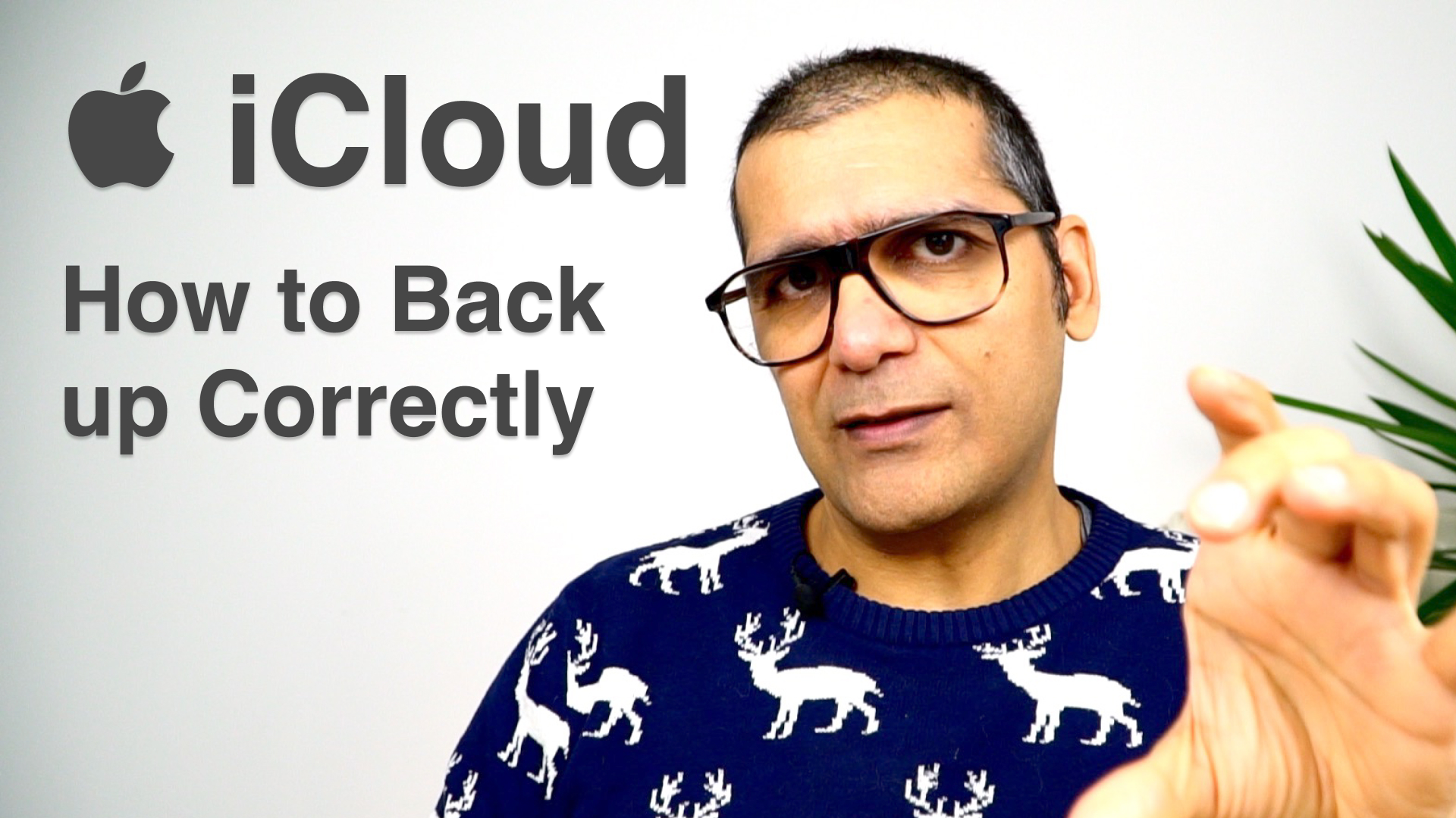 iCloud and how to backup your data properly