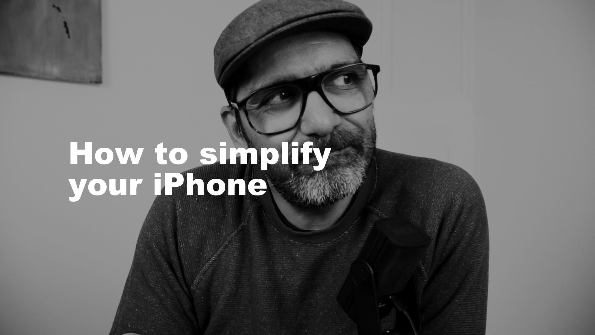 How to simplify your iPhone for a better workflow