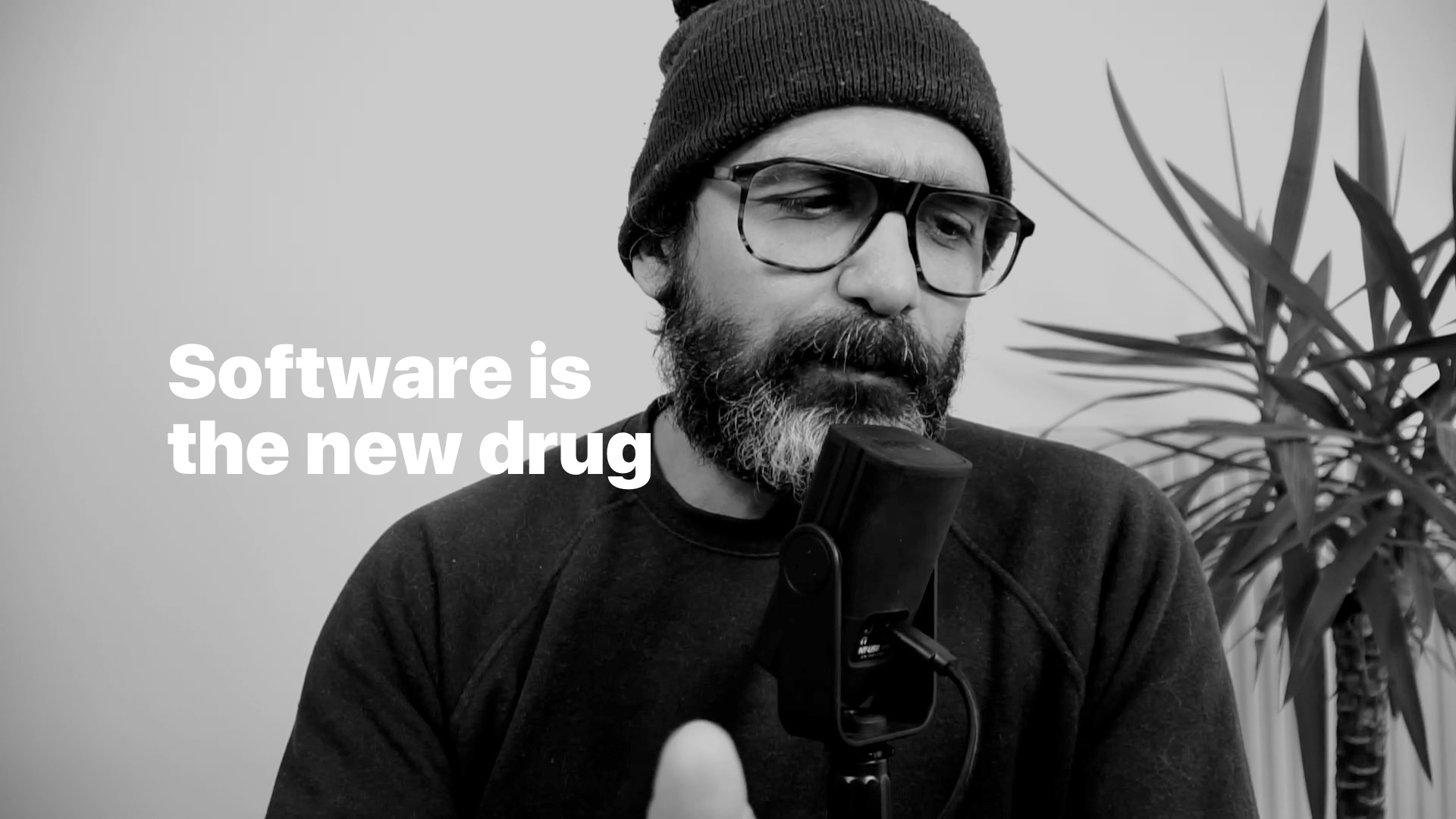 Software is the new drug
