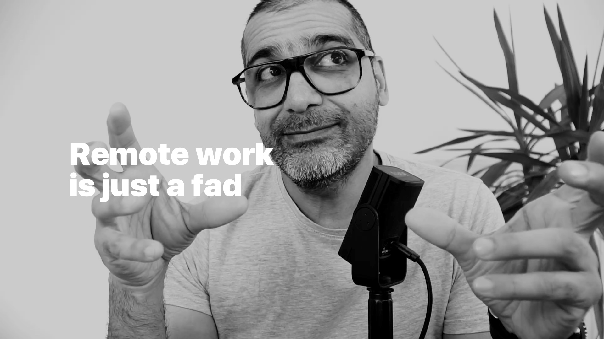 Remote work is just a fad