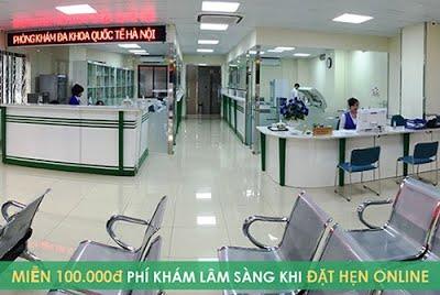 1.Phòng khám Đa Khoa Quốc Tế Hà Nội – Phòng khám phụ khoa uy tín tại Hà Nội