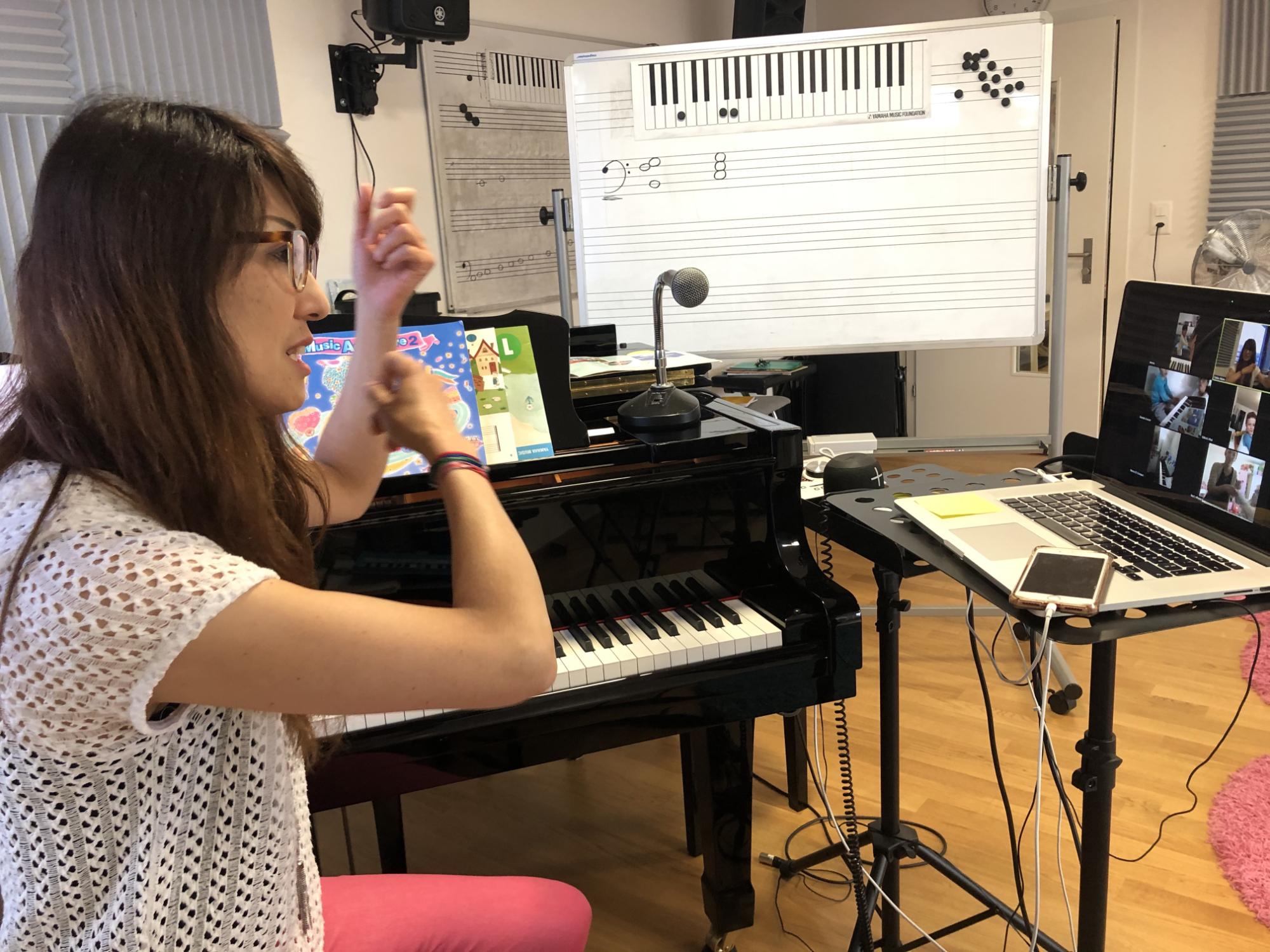 Junior Music Course of Yamaha Music School Zurich