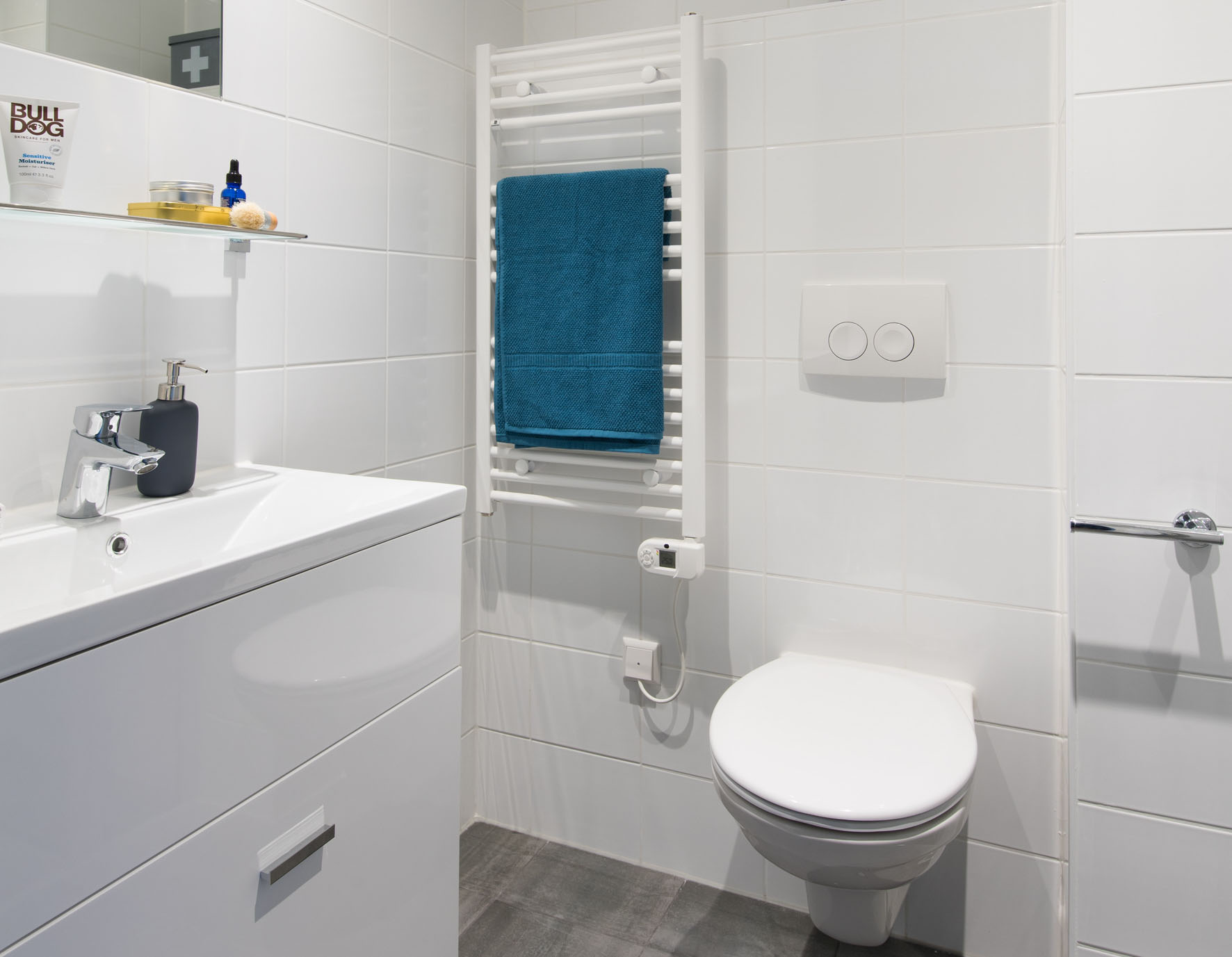 1-bedroom unfurnished apartment in OurDomain Amsterdam Diemen -bathroom