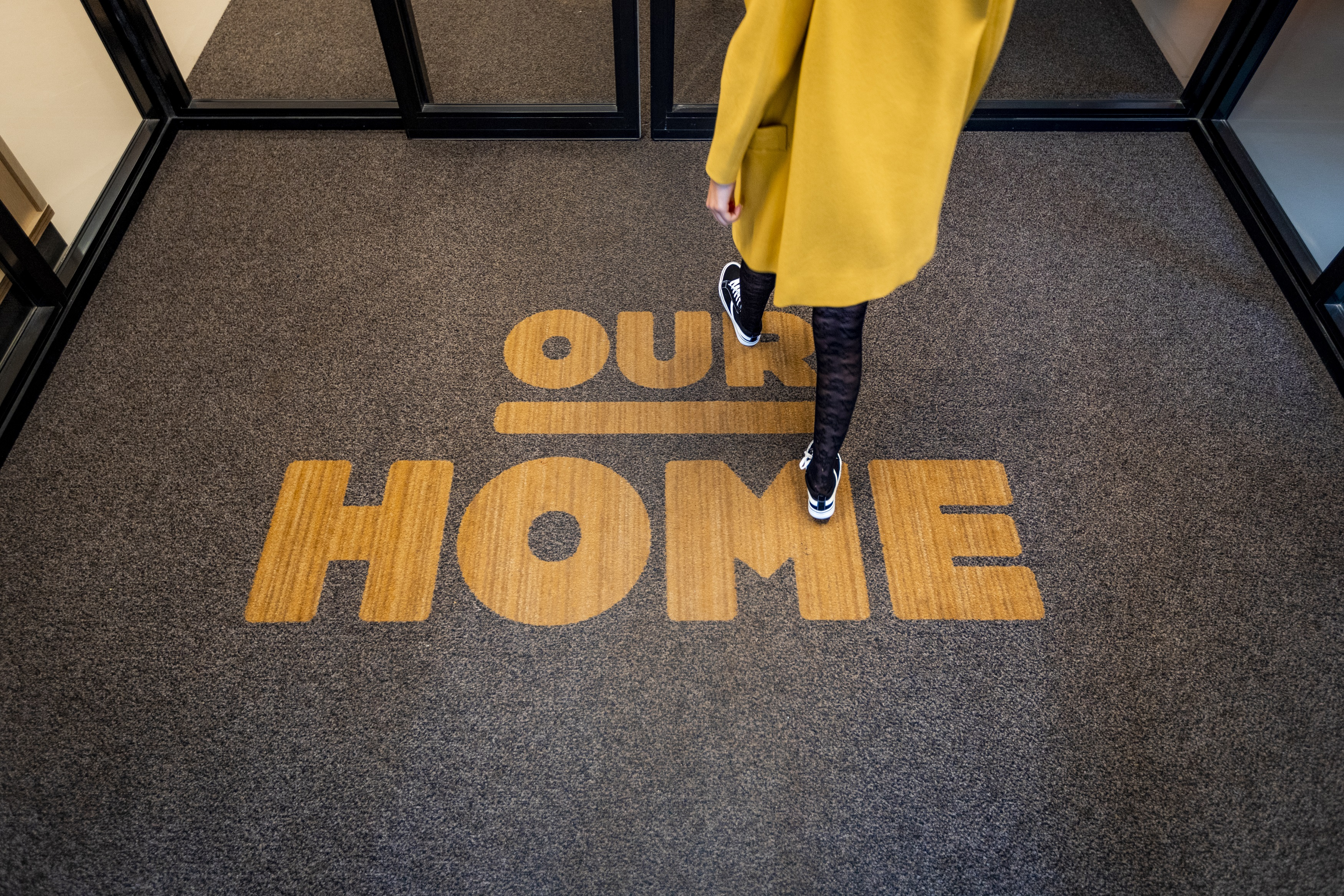 Our Home entrance mat at OurDomain