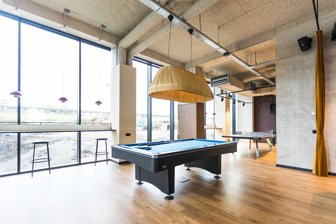 OurDomain Amsterdam South East Facilities: Game Room space