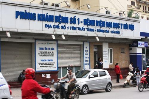 Phòng khám nam khoa Đại học Y Hà Nội