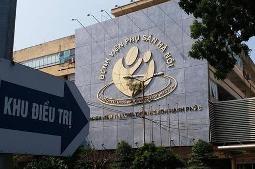 Thu hẹp vùng kín ở Bệnh viện Phụ sản Hà Nội