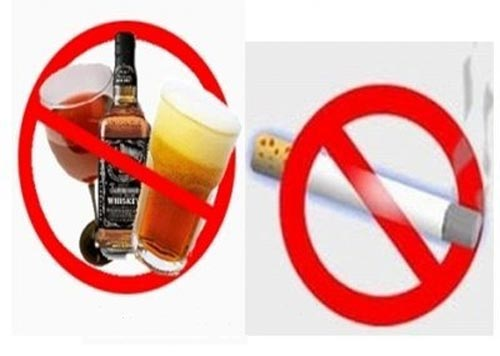 Xuất tinh sớm không nên uống rượu bia thuốc lá