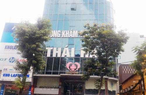 Phòng khám đa khoa tư nhân Thái Hà
