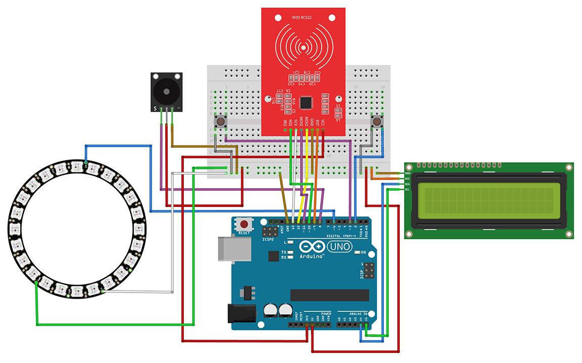 Breadboard Circuit Diagram