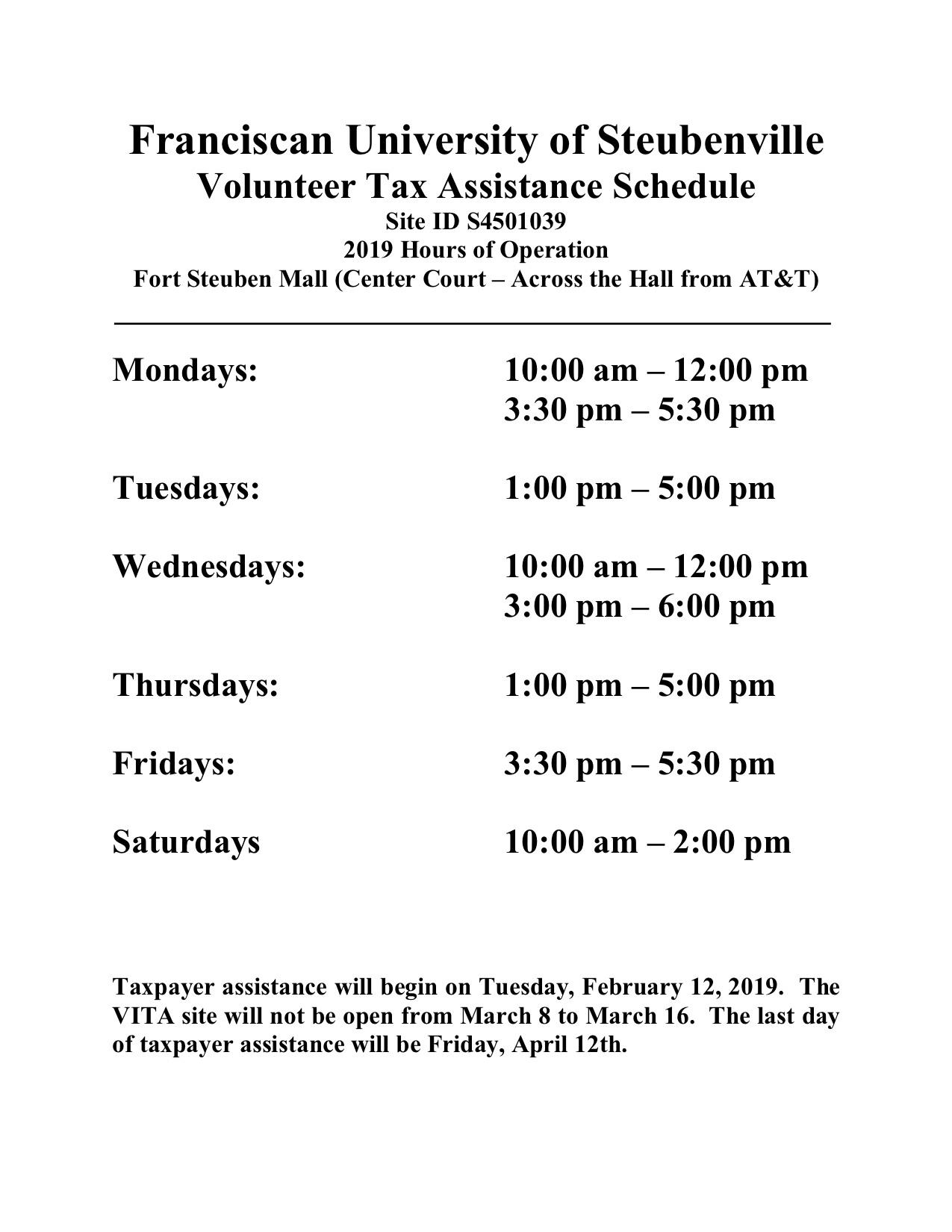 tax help text information