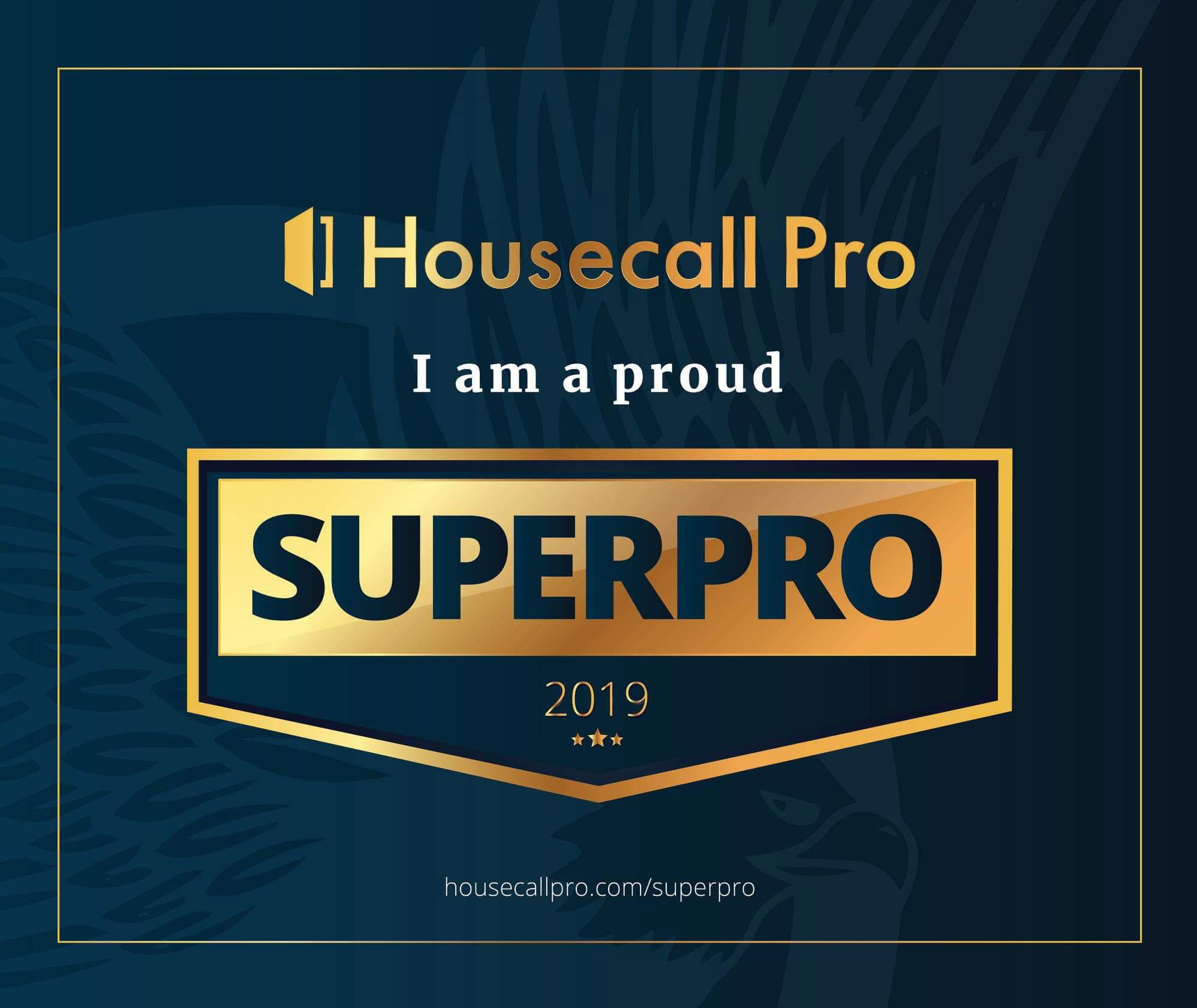 Enviro Plumbing are a Housecall Pro Superpro of 2019