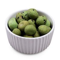 Wasabi nuts in bowl
