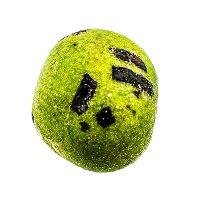 Wasabi coated nut