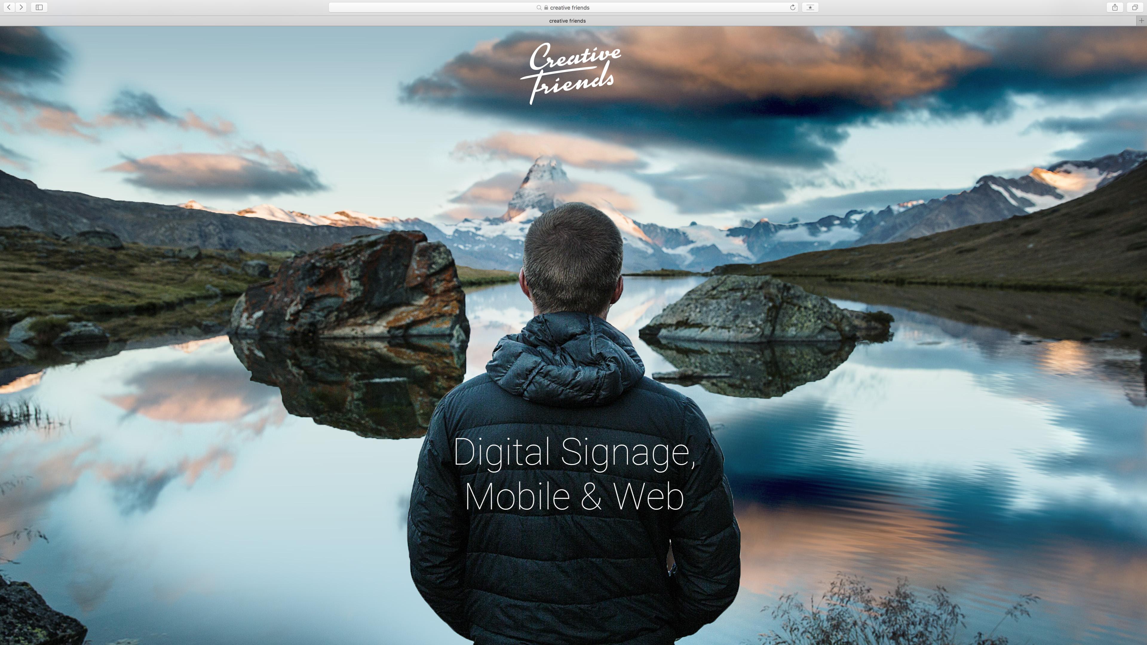 Creative Friends Intro Movie, Logo Animation, Motion Design, Sound Design, Animation, Michael Frei, Zurich