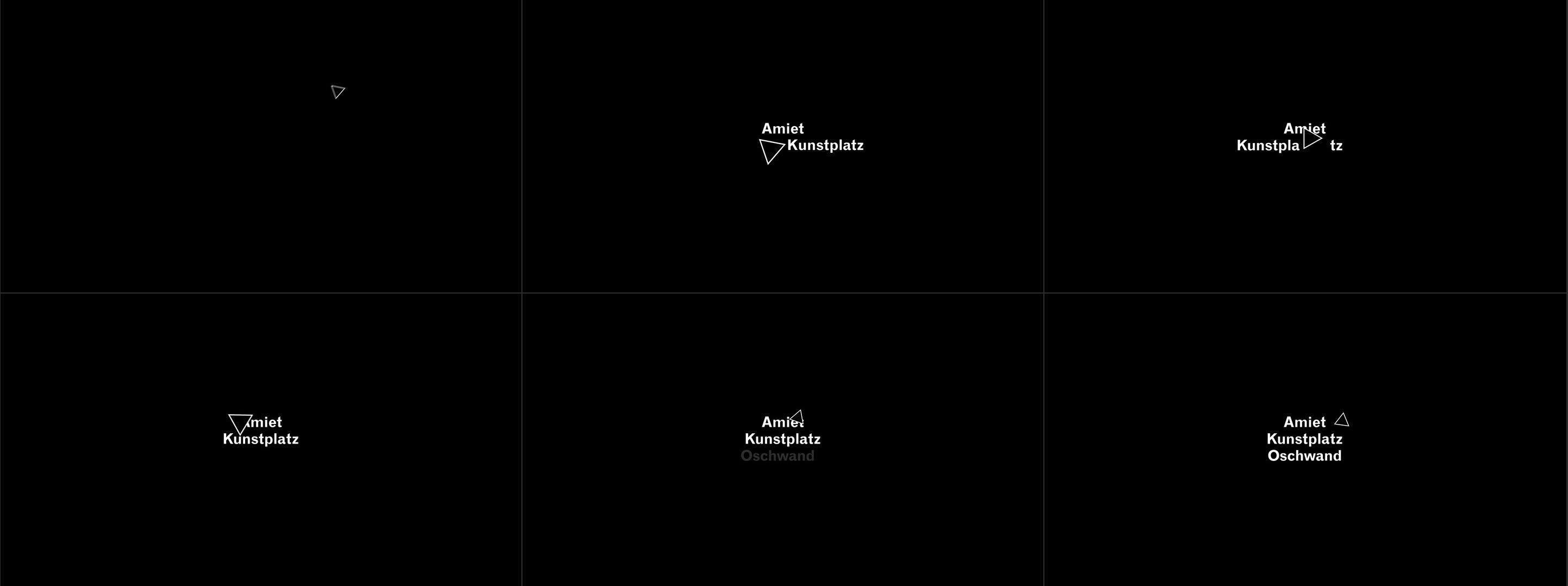 Amiet Kunstplatz, Moving Brand, Motion Design, Animation, Sound Design, Michael Frei, Zurich