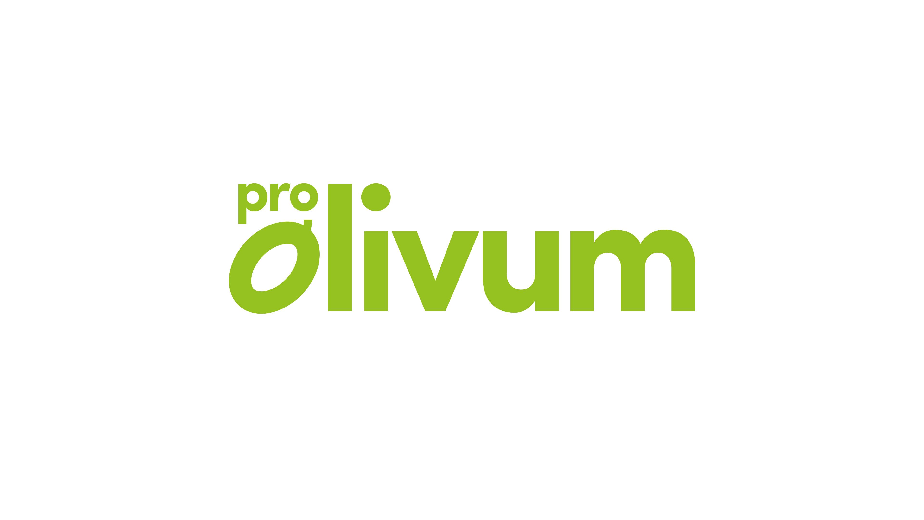 Pro Olivum Logo, Brand Design, Michael Frei, Zurich, Switzerland.