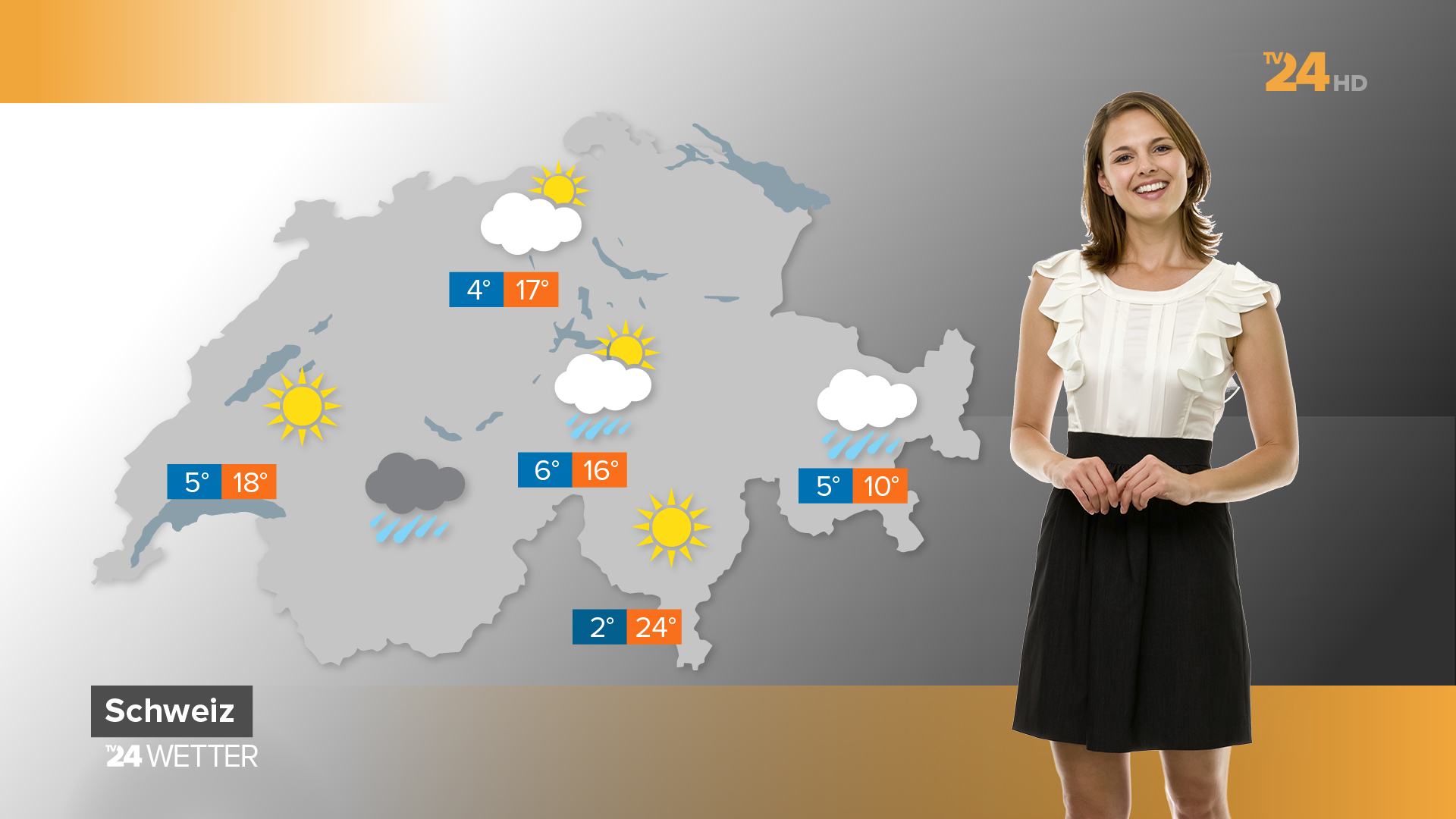 TV24 News and Weather, Branding, Brand Design, Opener, Wipes, On Air Graphics, Weather graphics, Typography, Graphic Design.