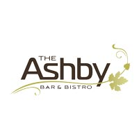 a logo of the ashby bar and bistro