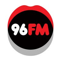 logo of 96fm; a happy client that booked our dj for hire