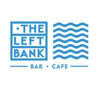 Leftbank bar and cafe logo; a venue often booking our DJ for hire