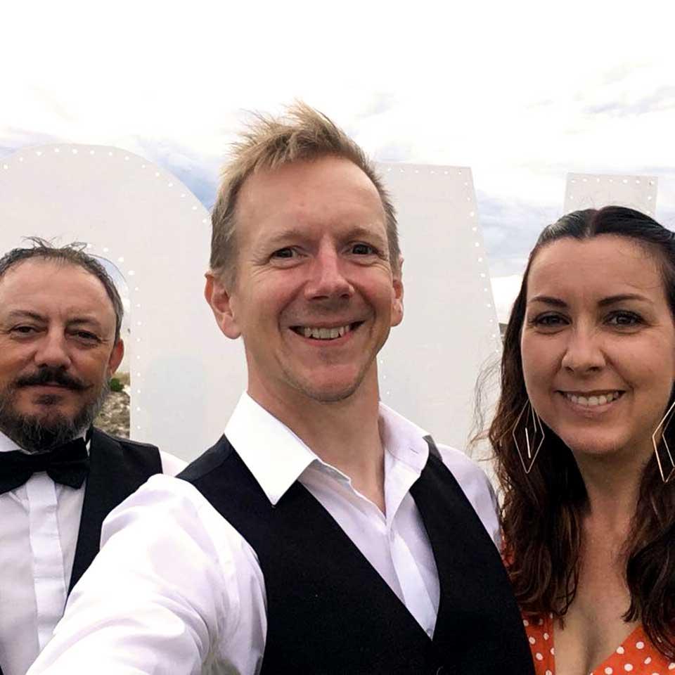 our wedding DJ specialist Mac
