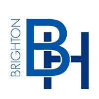 logo of the brighton hotel; often booking our dj for hire