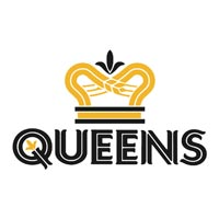 logo of the Queens tavern