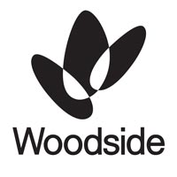 logo of woodside, a company that booked our corporate entertainer