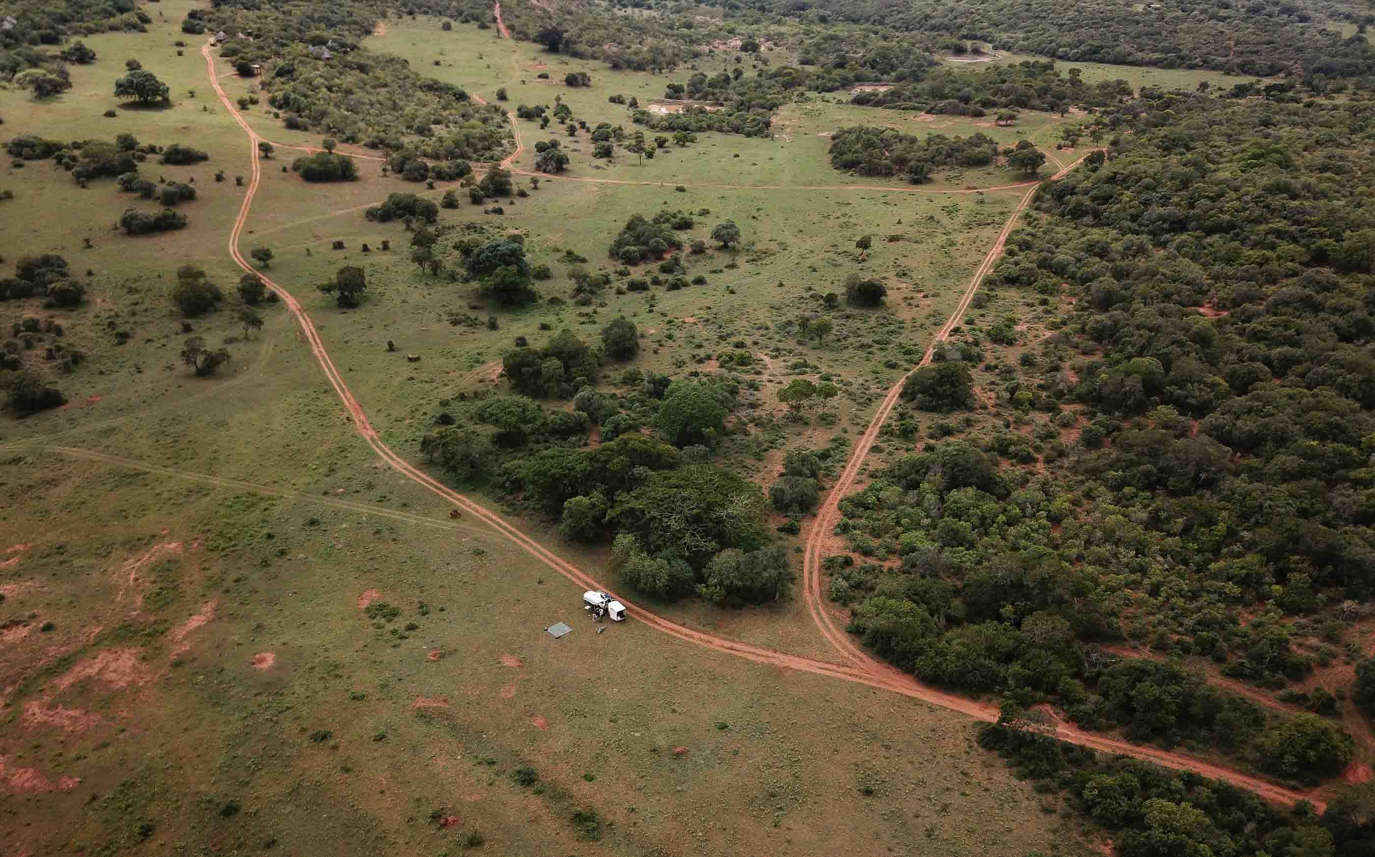 drone testing station in South Africa
