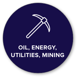 oil, energy, and mining icon