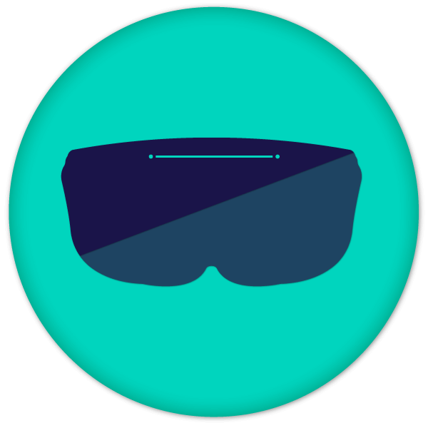 EWTS 2020 logo green vr glasses