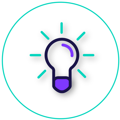 learn lightbulb icon