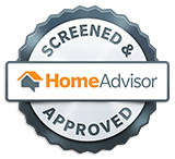 We are screened and approved on HomeAdvisor