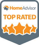 We are top rated on HomeAdvisor