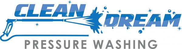 Clean Dream Pressure Washing Logo