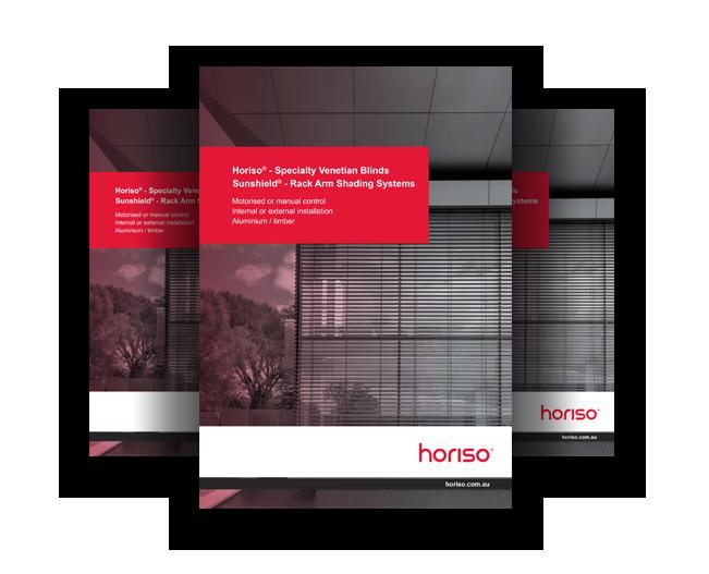 Horiso - External Venetian Blind Brochure