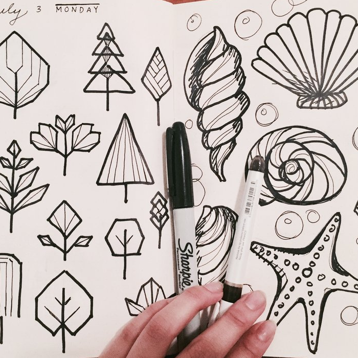Trees and shells