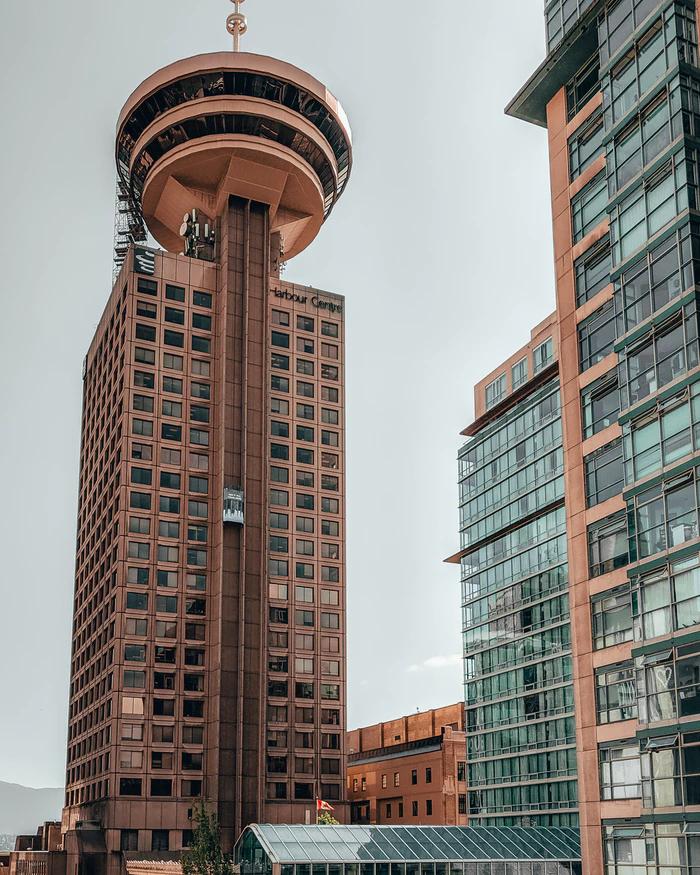 360º no Vancouver Lookout