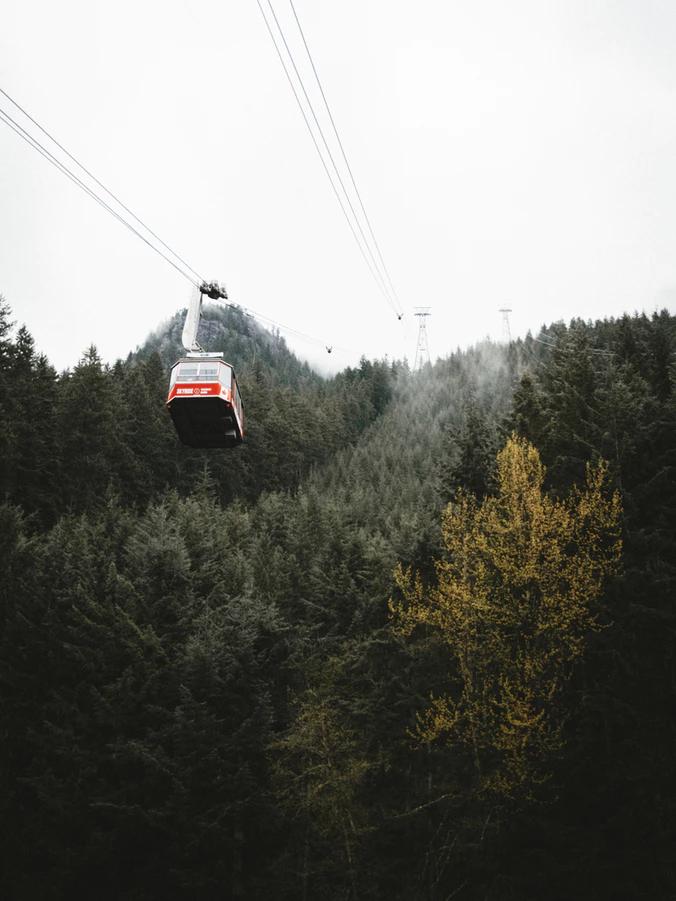Vancouver, Canadá - Grouse Mountain