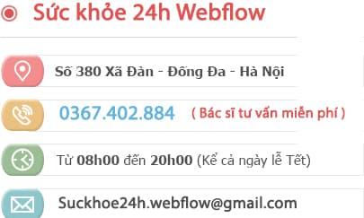Địa chỉ Sức khỏe 24h Webflow