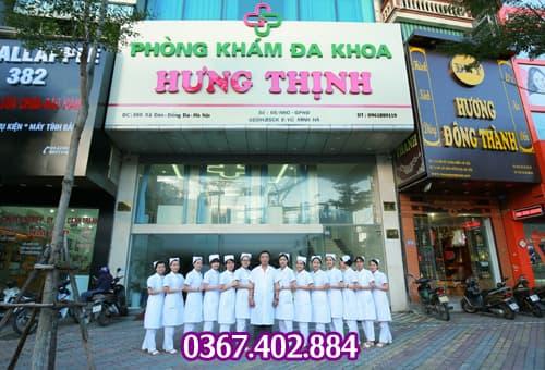Khám bệnh xã hội ở phòng khám Hưng Thịnh Hà Nội
